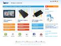 Náhled webu MapFactor