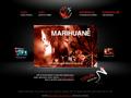 Náhled webu Marihuana, Joint, Konopí, Hašiš, Cannabis