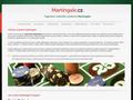 Náhled webu Martingale.cz - ruletový systém Martingale