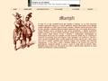 Náhled webu Martýři