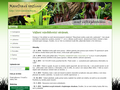 Náhled webu Masožravé rostliny aneb info o pěstování
