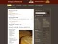 Náhled webu Recepty na Medovník