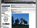 Náhled webu Mercedes-Benz Klub