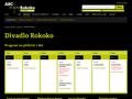 Náhled webu Divadlo Rokoko