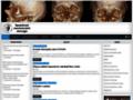Náhled webu Společnost maxillofaciální chirurgie