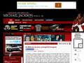 Náhled webu Michael Jackson