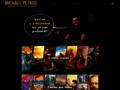 Náhled webu Michael Petrus - portfólio