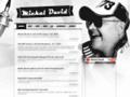 Náhled webu David, Michal