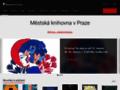 Náhled webu Městská knihovna v Praze