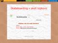 Náhled webu Skateboarding Vojkovice