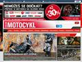 Náhled webu Motocykl
