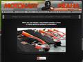 Náhled webu Kart Klub Letňany