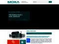 Náhled webu Moxa Shop