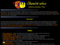 Náhled webu Sluneční sekce Štefánikovy hvězdárny