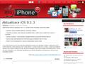Náhled webu Muj iPhone.com