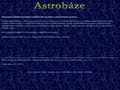 Náhled webu Astrobáze