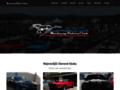 Náhled webu Mustang Riders club CZ