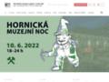 Náhled webu Vlastivědné muzeum a galerie v České Lípě