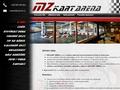 Náhled webu MZ Kart arena