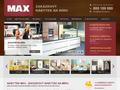 Náhled webu Nábytek Max
