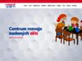 Náhled webu Centrum rozvoje nadaných dětí