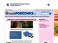 Náhled webu Našeporodnice.cz