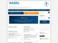 Náhled webu Národní autorizační středisko pro klinické laboratoře ČLS JEP (NASKL)