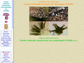 Náhled webu Česká vědecká společnost pro mykologii