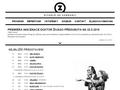 Náhled webu Divadlo Na zábradlí