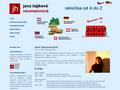 Náhled webu Výuka němčiny Jana Hájková