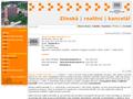 Náhled webu Nemovitosti Zlínska