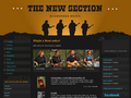 Náhled webu New Section