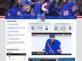 Náhled webu New York Rangers