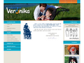 Náhled webu Nadační fond Veronika