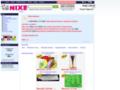 Náhled webu Nixe