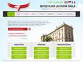 Náhled webu Nepustilova jazyková škola