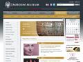 Náhled webu Náprstkovo muzeum