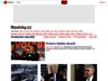 Náhled webu Novinky.cz: Geocaching: najdi svůj zlatý poklad