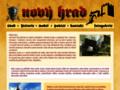 Náhled webu Nový hrad u Hanušovic