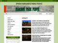 Náhled webu Národní park Podyjí