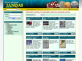 Náhled webu Služby sběratelům Janqas