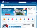 Náhled webu O2  Active