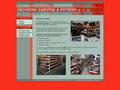 Náhled webu Obchodní zařízení a potřeby, s.r.o.