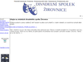 Náhled webu Ochotnický divadelní spolek Žirovnice
