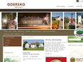 Náhled webu Mikroregion Odersko