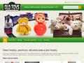 Náhled webu Old Toys