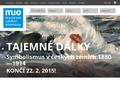 Náhled webu Muzeum umění  Olomouc