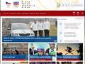 Náhled webu Olympic.cz: Informační server ČOV