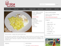Náhled webu Online kuchařka