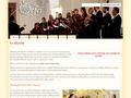 Náhled webu Pěvecký sbor Orfej